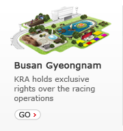 Busan Gyeongnam - KRA holds exclusive rights over the racing operations